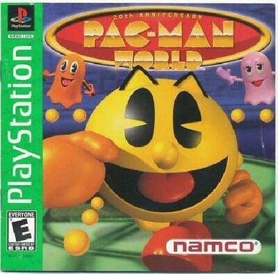 Pac-Man World (Greatest Hits) Complete PL PS1 PlayStation comprar usado  Enviando para Brazil