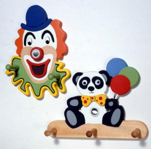 Woodworking Plan Clown & Teddy Bear Coat Hangers Woodworking Blueprint Plan