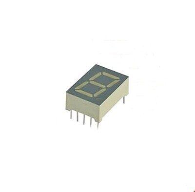 7-Segment-Anzeige, 1-fach, rot, 13,mm, gemein. Anode, Siemens Typ: HD1131R, 1St