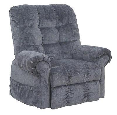 NEW Catnapper Omni 4827 2102/43 Power Lift Chair & Recliner - Black Pearl Fabric