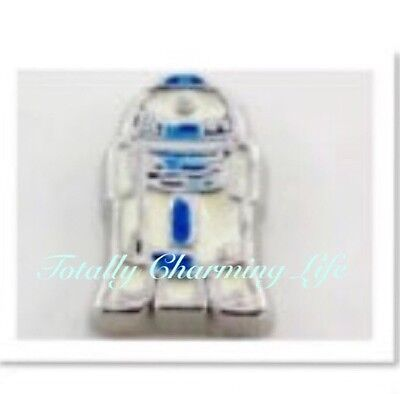 R2D2 Robot Star Wars Character Floating Charm Fits Living Memory Owl Locket BB-8