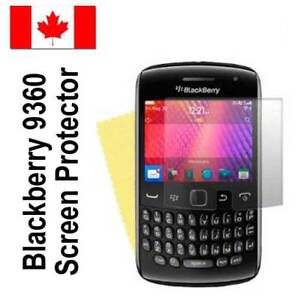 Screen protector film for Blackberry 9360.