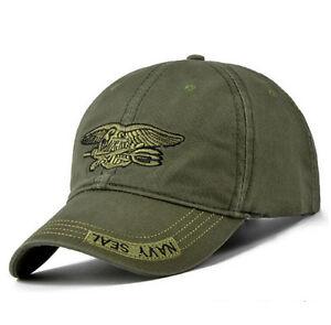 USA NAVY SEAL Military Ball Cap Baseball Green Hat SHIPS FROM