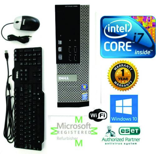 Custom Build Dell Desktop Computer I7 4th | 32gb | 1tb Ssd | Hdmi Windows 10 64