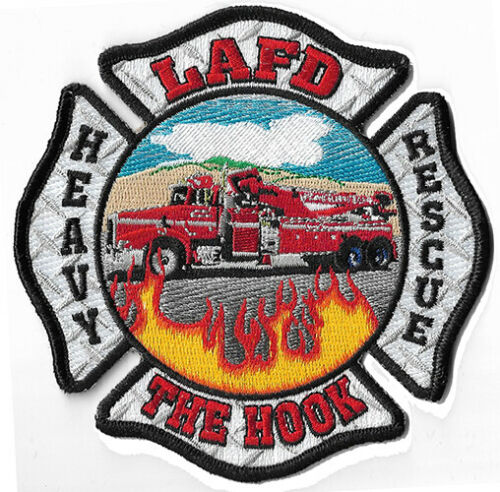 LAFD Heavy Rescue The Hook NEW Fire Patch