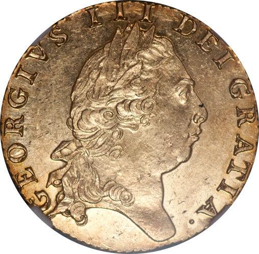 Great Britain 1798 George III Gold Spade Guinea NGC MS-62