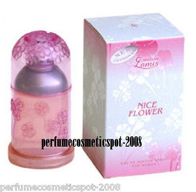 (NIB NICE FLOWER by CREATION LAMIS PERFUME FOR WOMEN 3.3 OZ / 100 ML EDP SPRAY)