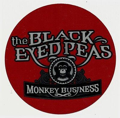 the Black Eyed Peas Monkey Business RARE promo sticker '05