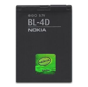 New OEM Original Authentic Nokia Bl-4D Battery for  Nokia N97 Mini N8 E7 T7