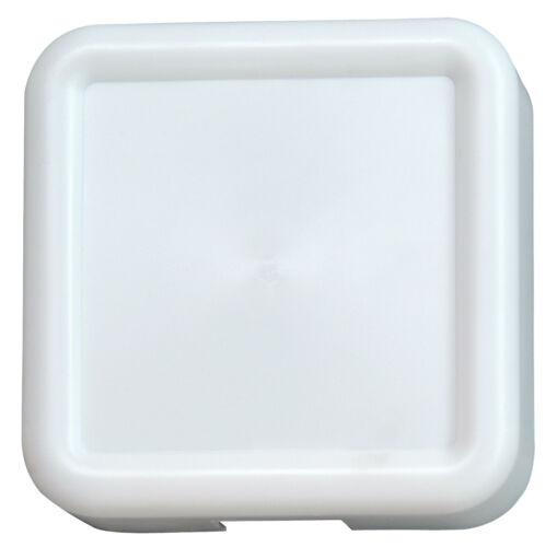 Kopp Doppelklang-Gong Quadrat Weiß 8 V / 1 A Neuware