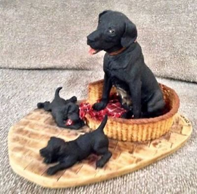 Labrador & Pups Border Fine Arts Circa 1977 - 57A for sale  Granite City