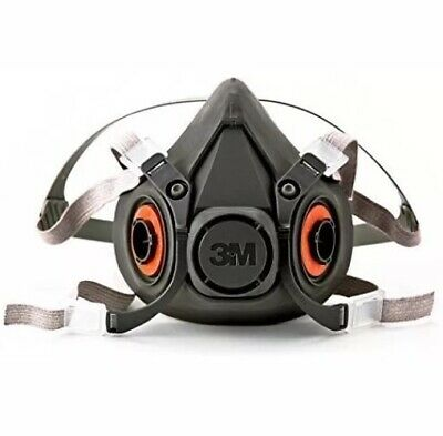 3m Half Facepiece Reusable Respirator Large Face Mask Painting Gas Mask Particle