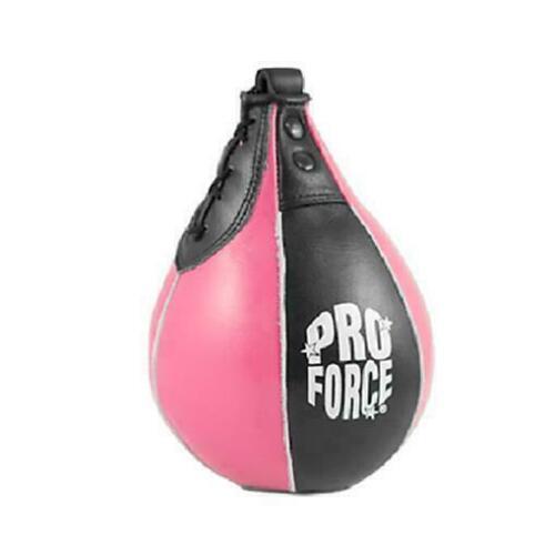 ProForce Leather Speed Bag Boxing Karate Training Punching M
