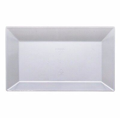 120ct. Clear Disposable Square Plates & Bowls Look Real