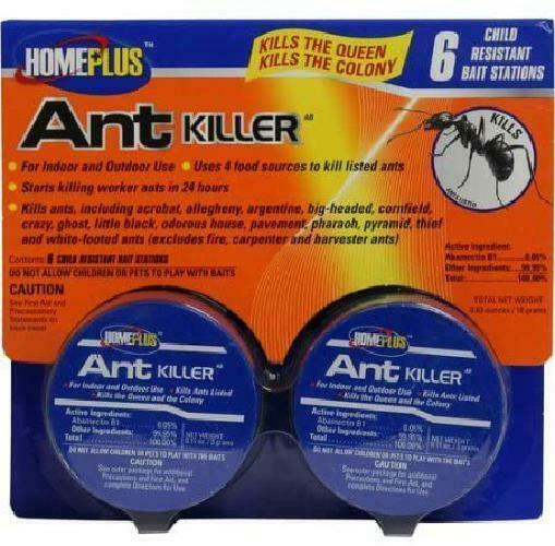 PIC HomePlus Ant Killer 6-Pack, 6 Count kill the ants For In