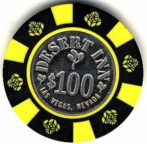 Desert Inn Casino Las Vegas $100 Chip 1981