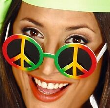 1960s Fancy Dress Hippy Glasses Hippie Specs Lennon Sunglasses New fg