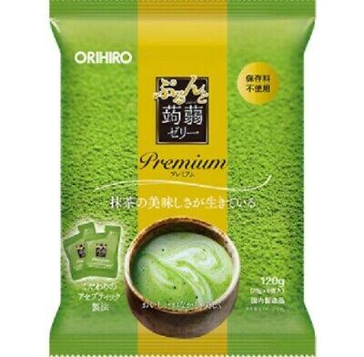 ORIHIRO purunto konnyaku jelly premium (matcha flavour) 120g / 20g x 6