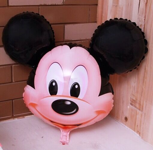 6 X Mickey mouse Helium  Inflatable Animal/People, Foil balloons, All Occasions
