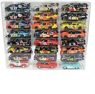 24 Car Diecast Display Case 1 24 Scale Diecast Nascar Model Cars Free Shipping
