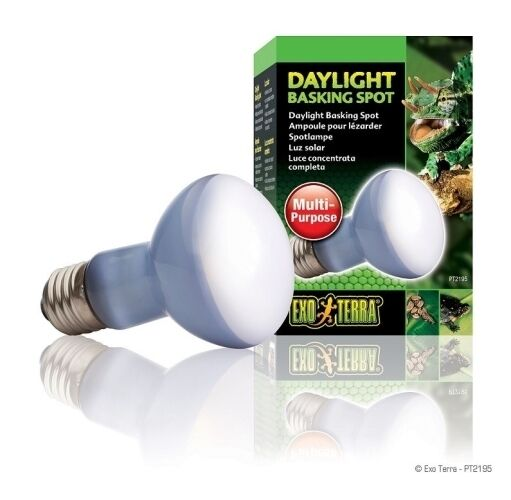 Exo Terra Reptile Daylight Basking spot Bulb 50W Genuine Replacement Lamp