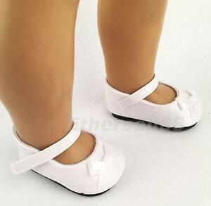 Shoes bowknot for 18 inch american girl doll clothes accessory ebay