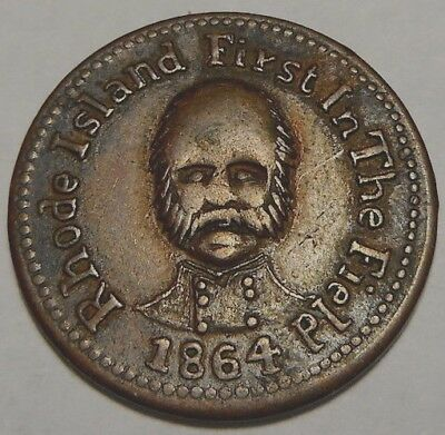 Providence RI700G-2a (R-2) Ambrose Burnside Pictorial, City Fruit Store