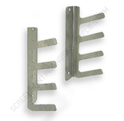 4 Place Screen Printing Squeegee Rack Holder Organizer Screenprinting