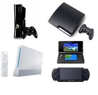 XBOX ONE 360 PS4 PS3 PLAYSTATION WII PS2 REPAIR REPARATION PARTS