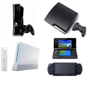 PS4 PS3 Wii XBOX ONE 360 PS2 GAMES JEUX REPAIRS REPARATION PARTS