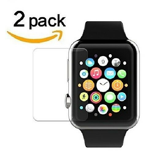 2-PACK Tempered Glass Screen Protector For Apple Watch ( Series 2 ) 38mm/42mm Cell Phone Accessories