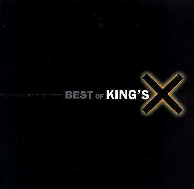 KING'S X - Best of (CD 1997) USA Import EXC Greatest Hits Hard Rock Prog