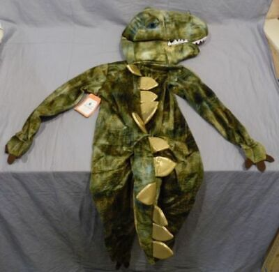 NWT/NEW POTTERY BARN KIDS DINOSAUR T-REX COSTUME TODDLER SIZE 3T 3