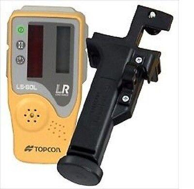Topcon Ls-80l Laser Receiver Sensor Detector With Bracket Holder 6