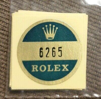 🛑B) 6265 Rolex vintage DAYTONA Sticker Aufkleber Etiqueta Adhesivo adesivo comprar usado  Enviando para Brazil