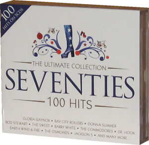Ultimate Seventies 5 CD set of 70s 1970s Original Music