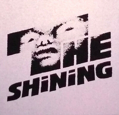 PATCH - The Shining - canvas screen print HORROR - Stephen King, Stanley Kubrick