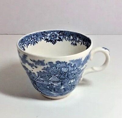 Meakin Willow (Vtg Alfred Meakin BLUE WILLOW TEA CUP ENGLISH VILLAGE Made In)