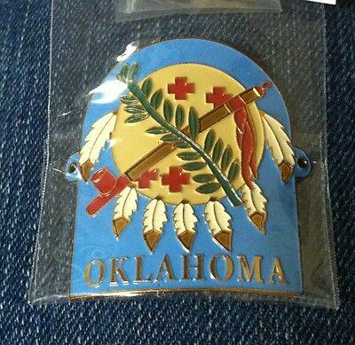 Oklahoma walking Stick Hiking Medallion NEW staff
