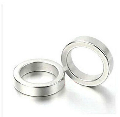 Wholesale 40mm X 5mm Hole 25mm Ring Round Neodymium Permanent Magnets