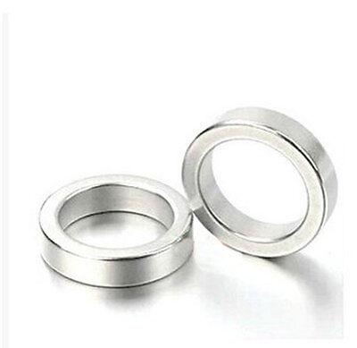 Wholesale 40mm X 5mm Hole 25mm Ring Round Neodymium Permanent Magnets