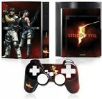 Resident Evil 5 Faceplate + Console Skin (Playstation 3)
