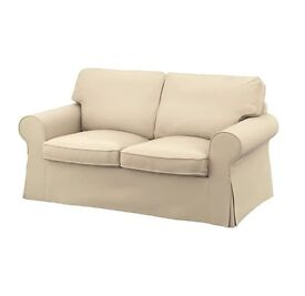 3 SEATER & 2 SEATER SOFA. 1 year old. Beige.