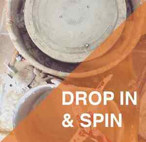 Pottery Classes: Drop In & Spin