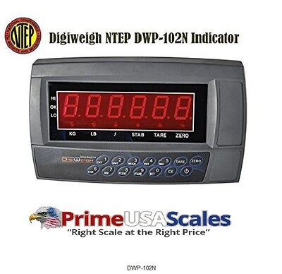 Digiweigh Readout Dwp-102n Ntep Led Indicator For Ntep Floor Scalebrand New