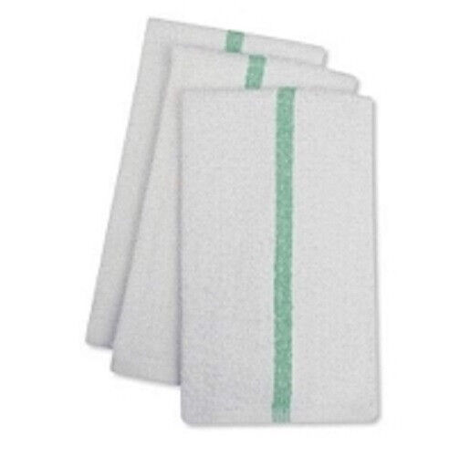 Green Stripe Bar Mops Restaurant Kitchen Towels Ebay
