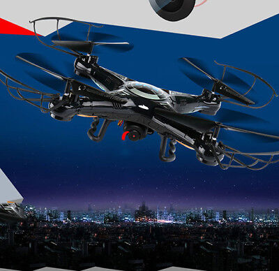 Drone LCD Screen Remote control LED Flying Colorful Gift aircraft Cool 2017 New