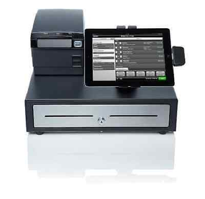Retail Point Of Sale System Cash Register POS NCR Silver Printer