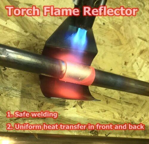 Torch Flame Protector Metal Welding Blanket Safe welding Shield Plumbing