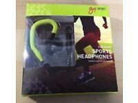 Goji Sport Ear Hook Sports Headphones GSPOOK16 - RRP £12.99